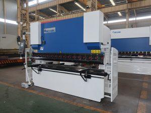 100T 2500 máquinas de flexión hidráulicas del freno de la prensa del control de 2 ejes