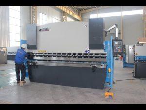 Dobladora de la chapa 125T 6m m, freno de la prensa hidráulica WC67Y-125T 3200 para China