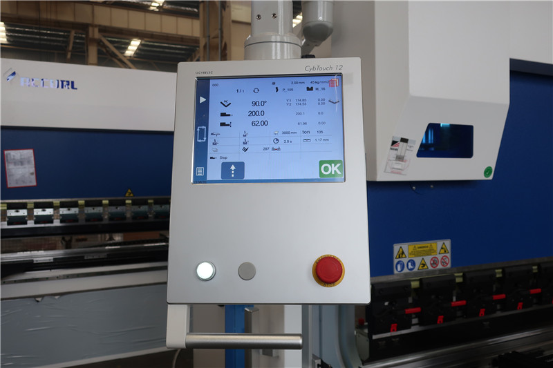 Sistema CNC CybTouch 12 PS 2D