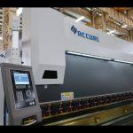 Máquina de freno de prensa CNC de 4 ejes Corona motorizada CNC de 175 ton x 4000mm