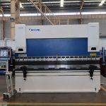 Freno de la prensa del CNC hidráulico WC67K, precio de la máquina de flexión del CNC