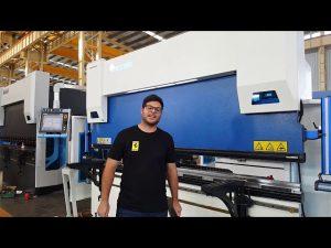 Prensa de 6 ejes CNC Press Brake Euro Pro B32135 con Wila Clamping System a través de clientes australianos