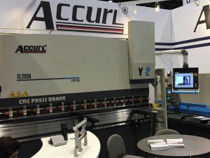Accurl participó en la máquina herramienta de Chicago y la Exposición de Automatización Industrial en 2016