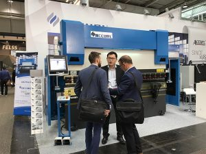 Accurl participó en la Exposición Internacional de Máquinas Herramienta de Hannover en Alemania en 2017