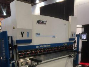 Accurl participó en la Exposición de Maquinaria de Las Vegas en los Estados Unidos en 2016