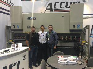 Accurl participó en la Exposición Americana en 2017