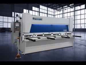 Tijeras maestras de guillotina hidráulica MS8 3206 con sistema ELGO P40T de pantalla táctil CNC