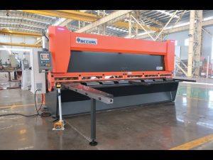 Rastrillo variable maestro con cizallas de guillotina hidráulicas CNC MS8-10x4000mm