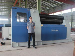 Los clientes de Tailandia adquieren la máquina de laminación W12 de Accurl Company