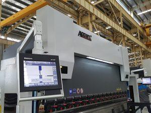 Plegadora hidráulica de Delem DA52, precio horizontal posicional exacto de la prensa, ángulo de hierro del CNC