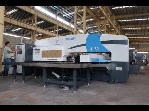 Prensa perforadora de la torreta hidráulica del cnc para la máquina de la perforación del CNC de 30 toneladas