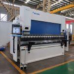 WC67Y-80T / 2500 80T placa de acero cnc prensa de la máquina de freno