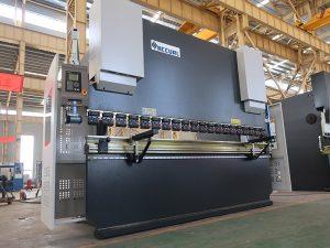 nuevo estilo estun e21 sistema prensa freno manual 6mm máquina de plegado de chapa