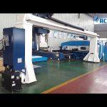 Estilo de pórtico de 5 ejes cnc prensa freno robot doblado / torreta punzón prensa