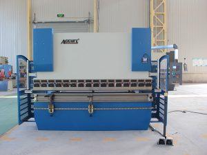 300t * 4000 heavy duty 4 ejes da52s cnc prensa plegadora