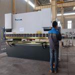 Prensa de planchar hidráulica de la promoción WC67Y, dobladora para el perfil de aluminio