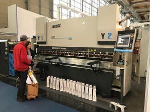 freno hidráulico de la prensa del dibujo de la máquina de la flexión de la placa del CNC con buen servicio