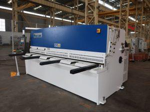 alta precisión de corte QC12Y 4x2500 máquina de corte de chapa de acero cizalla hidráulica de chapa de acero