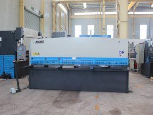 tipo de guillotina de alta precisión QC11y-16 * 6000 cizalla hidráulica