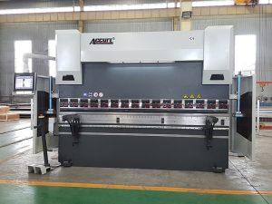 Con el estándar europeo CE certificado hidráulico automático plegadora prensa plegadora