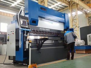 Heavy duty cnc hidráulico proporción prensa plegadora