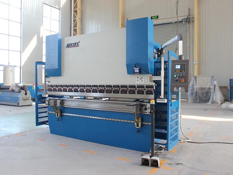 Wc67k 100t Siemens Motor Servo Maquina Plegadora Hoja De Metal Cnc